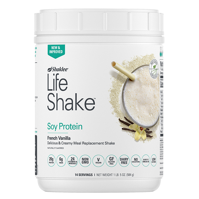 Life Shake Soy Protein Vanilla front