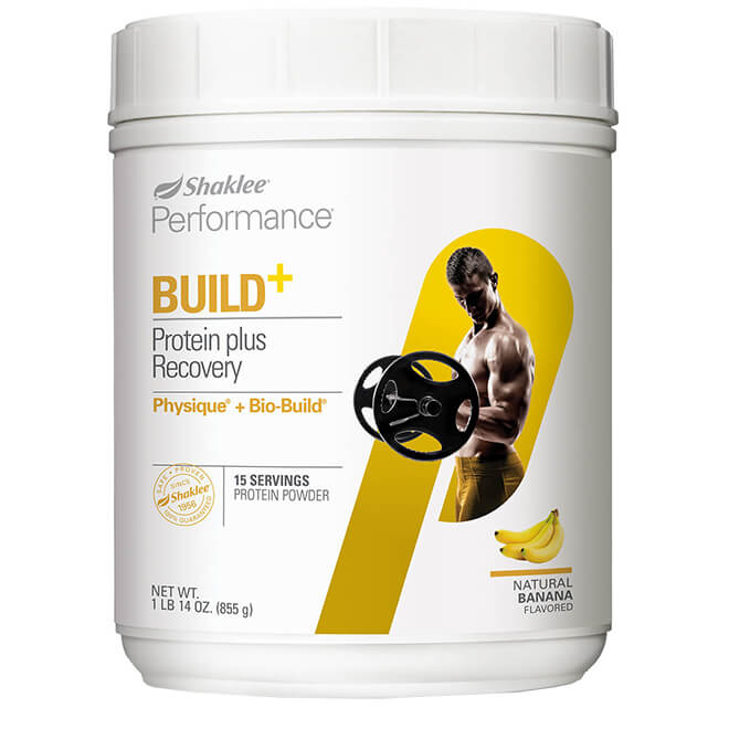 Physique + Bio-Build Recovery Shake Banana front